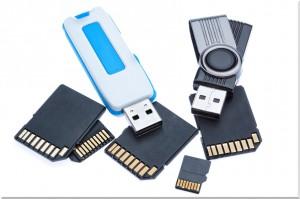 Datenrettung Speicherkarten, USB-Sticks